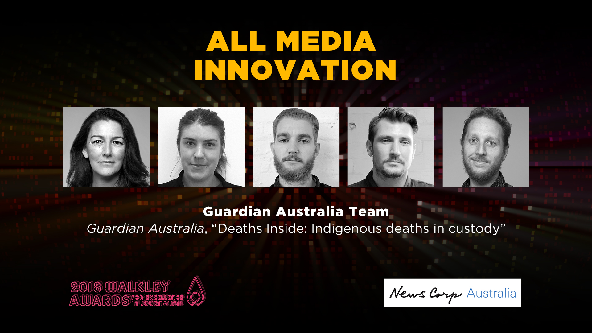 2018 Walkley Winners: Guardian Australia