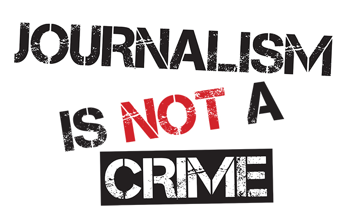Journalism is not a crime