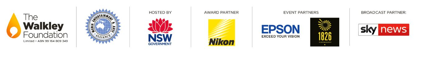 2019 Nikon Walkley sponsor logos