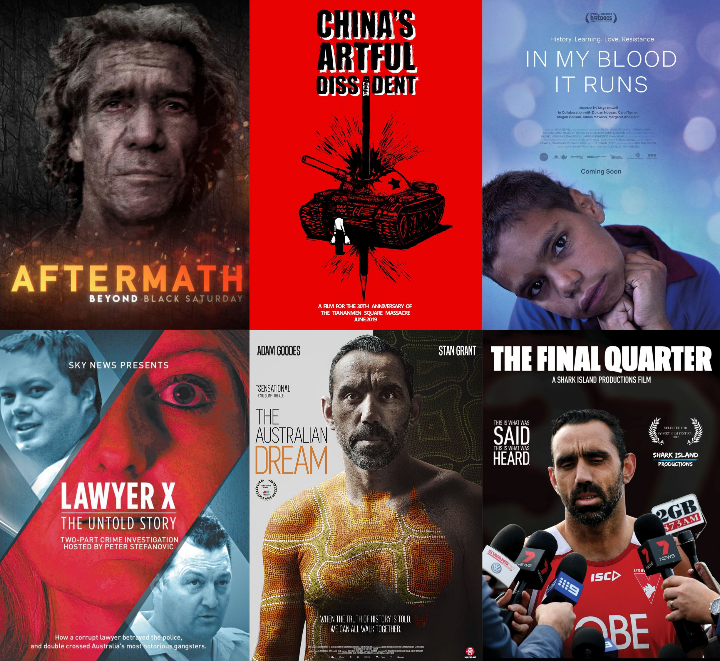 2019 Walkley Documentary Longlist Screenings (Sydney)
