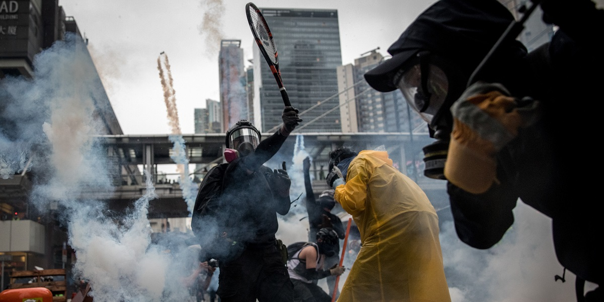 """The Battle for Hong Kong 1"" (Chris McGrath, Getty Images)"