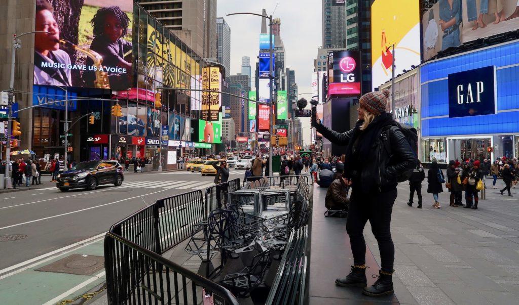 Ali Rae in New York