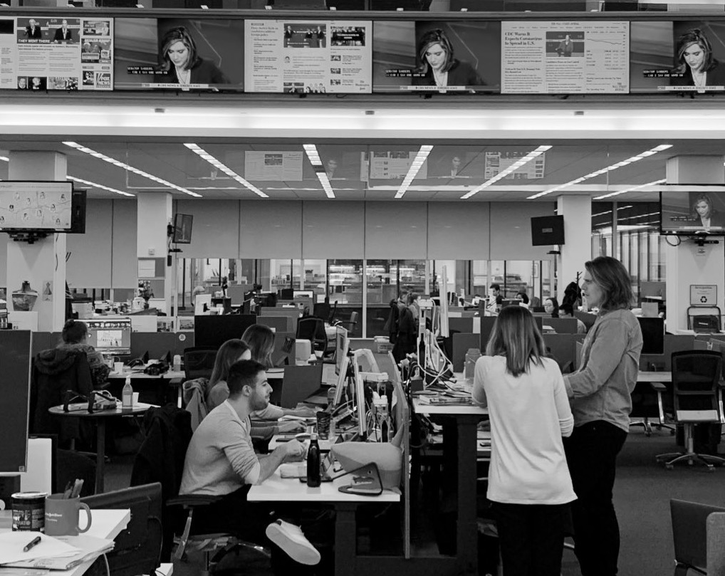 "The ""woah"" moment — inside major US newsrooms as the coronavirus story broke"