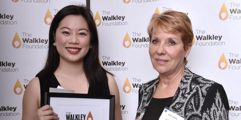 2019 winner Caroline Tung and Anita Jacoby