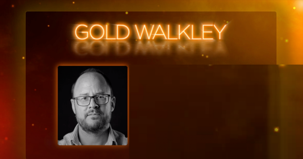 Gold Walkley Slider