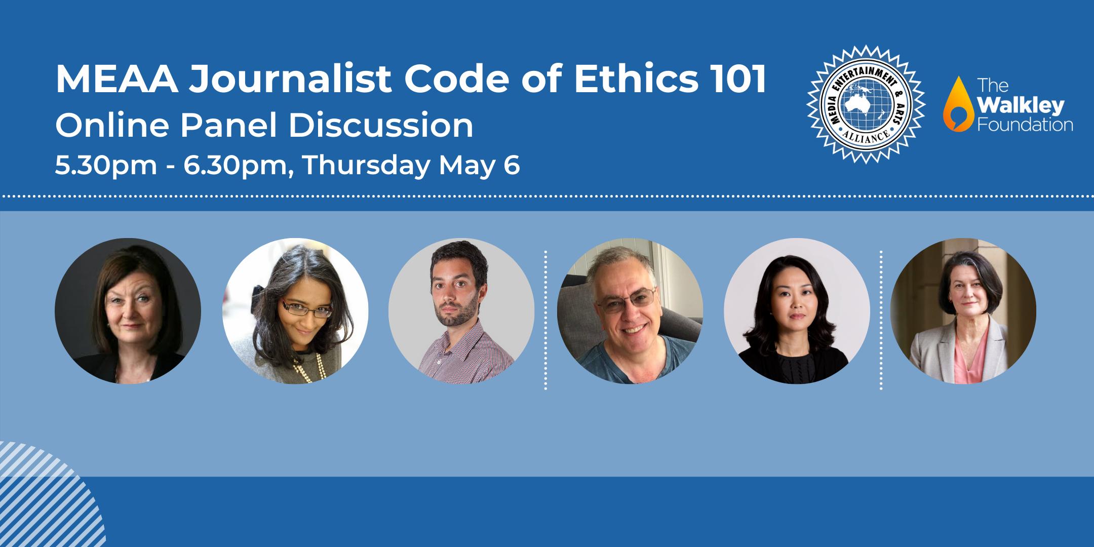 MEAA Journalist Code of Ethics 101
