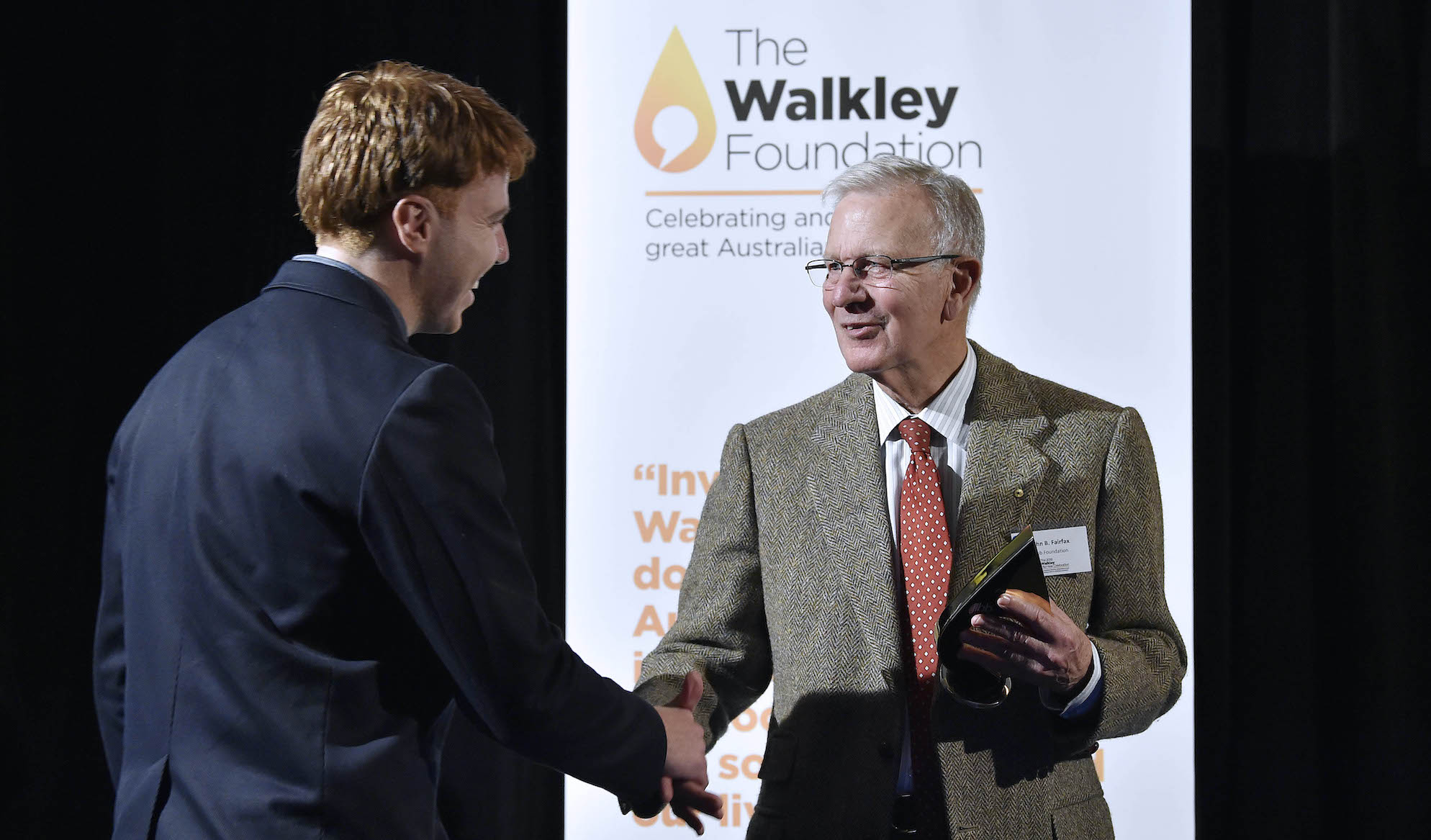 """""""These stories have shone a light in some dark places."""" John B Fairfax on $1million Walkleys gift"""